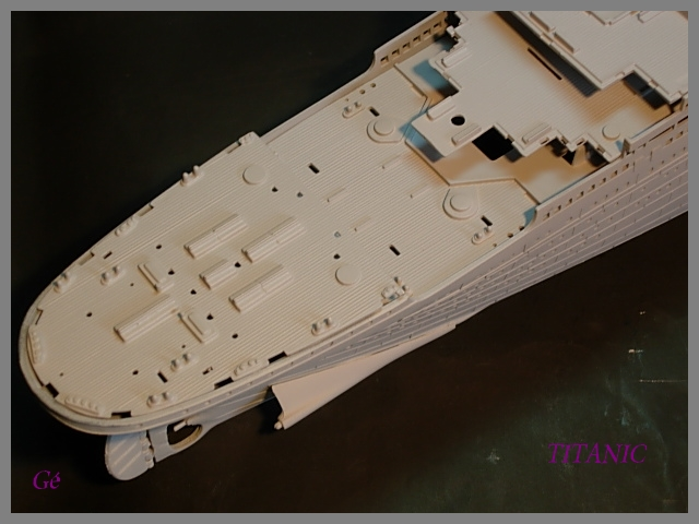 Titanic 1/400 Revell Titani12
