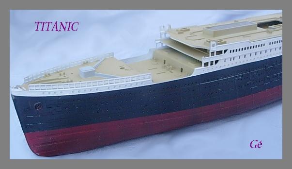 Titanic 1/400 Revell Titani18