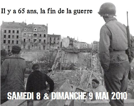 MAI 1945,  MAI 2010, 65éme ANNIVERSAIRE, MARNE Memory 44 Il_y_a10