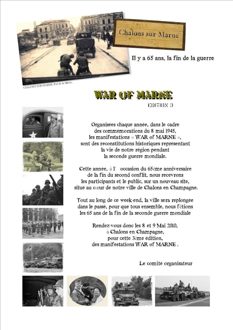 MAI 1945,  MAI 2010, 65éme ANNIVERSAIRE, MARNE Memory 44 P1_pra12