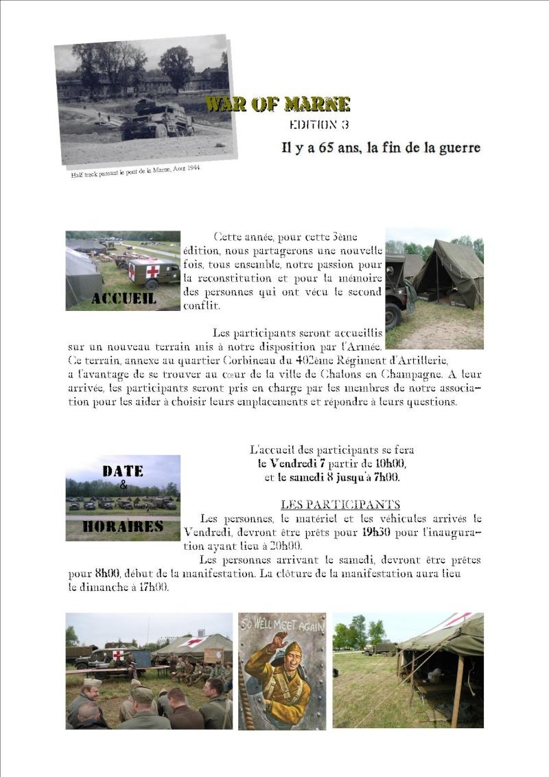 MAI 1945,  MAI 2010, 65éme ANNIVERSAIRE, MARNE Memory 44 P212