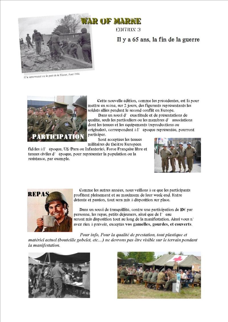 MAI 1945,  MAI 2010, 65éme ANNIVERSAIRE, MARNE Memory 44 P312