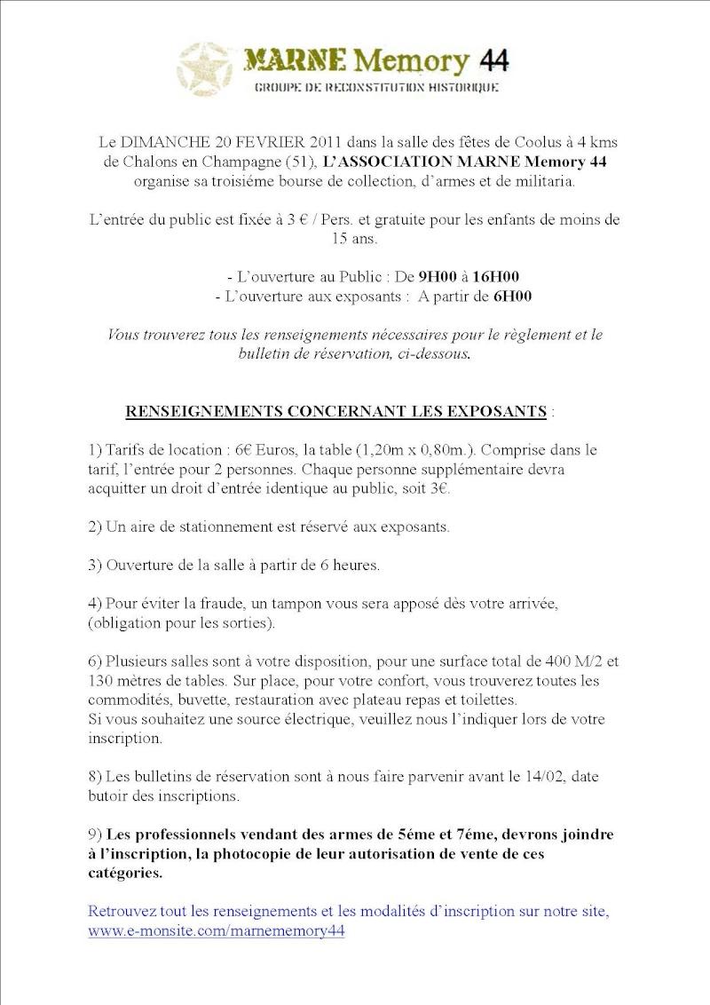 Bourse aux armes et militaria Marne Memmory 44 le 20/02/2011 Rens__13