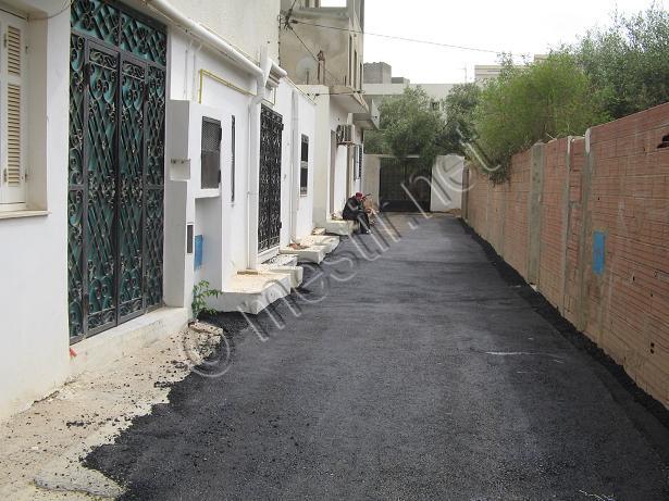 Les rues goudronnées Mestir38