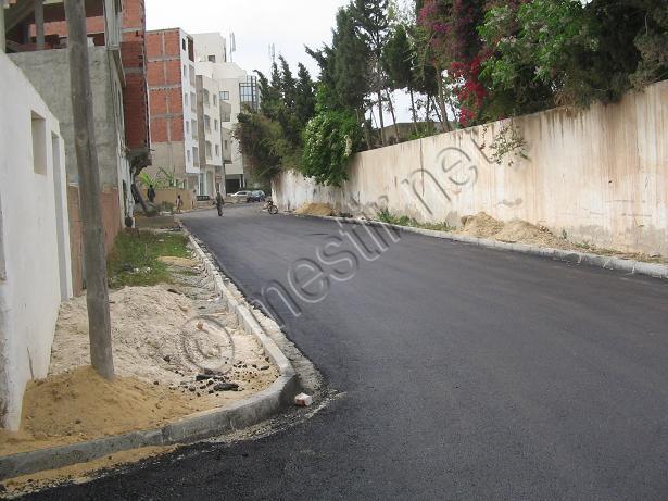 Les rues goudronnées Mestir40
