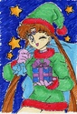 [Colorisation] Noël manga !^^ Cha_ch11