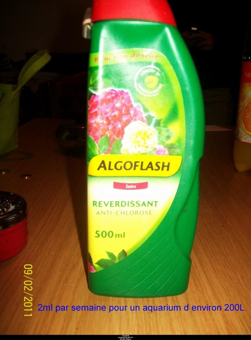 Les apports d'engrais et oligo-éléments L'Algoflash 100_3910
