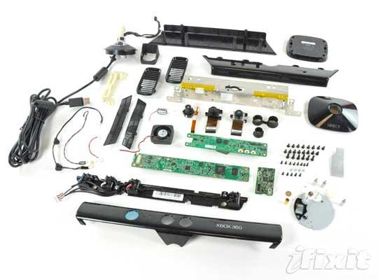 Kinect démonté Demont12