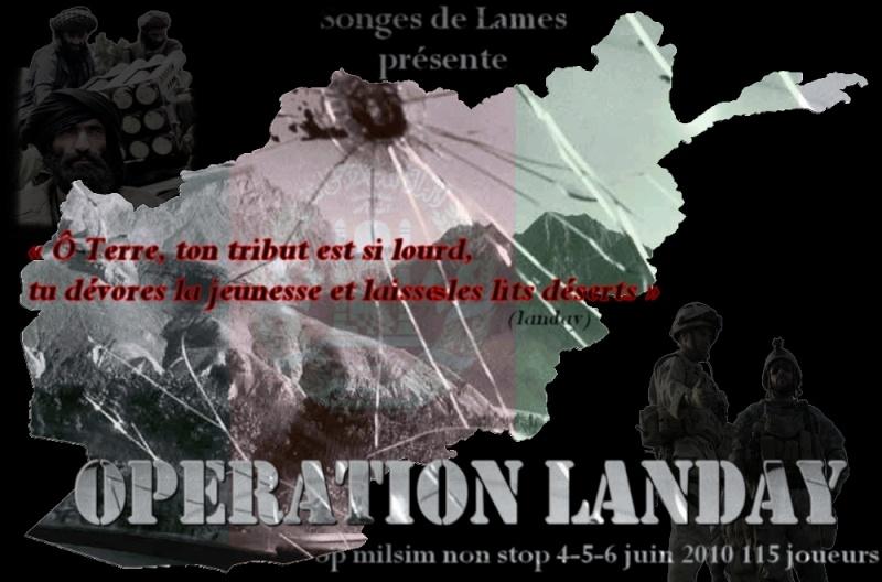 operation LANDAY: milsim afghanistan Affich10