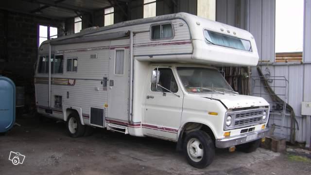 Camping car ford americain v8 poid lourd 52065810