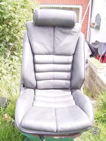 Interrieur cuir gris complet pour Lebaron: 95958210