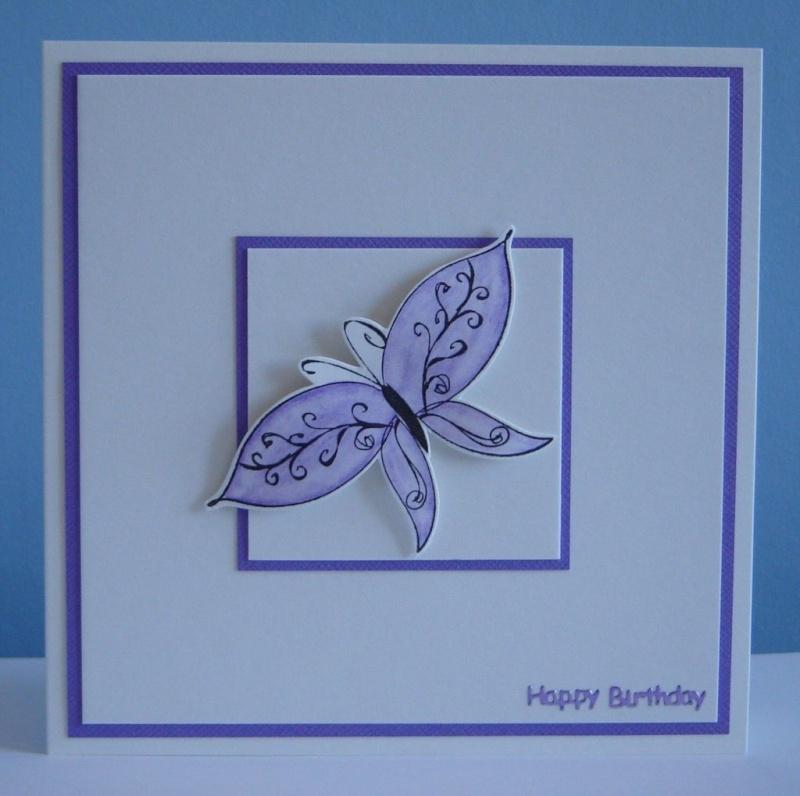 """Carte """"papillon"""" Al_pur10"""