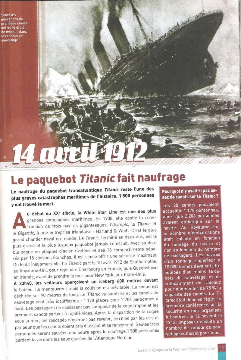 Article dans Les docs de l'actu Titani10