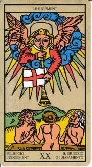 question avec le tarot de Marseille. Arcano11