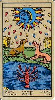 question avec le tarot de Marseille. Arcano14