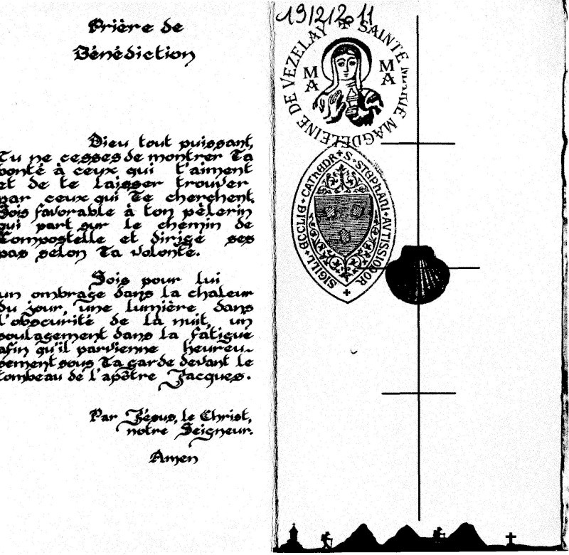 Le Chemin de Sainte Marie Madeleine de Vézelay Cred510