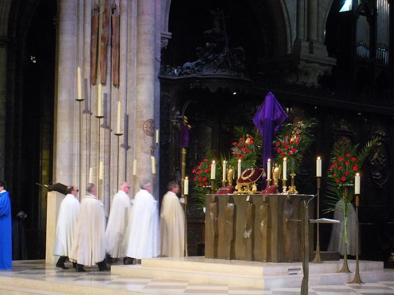 Les Reliques de la Passion de Notre Dame de Paris Dscn4810
