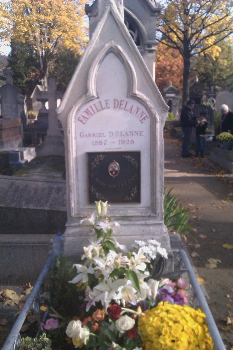 Vandalisme sur la tombe de Gabriel DELANNE Gabrie10
