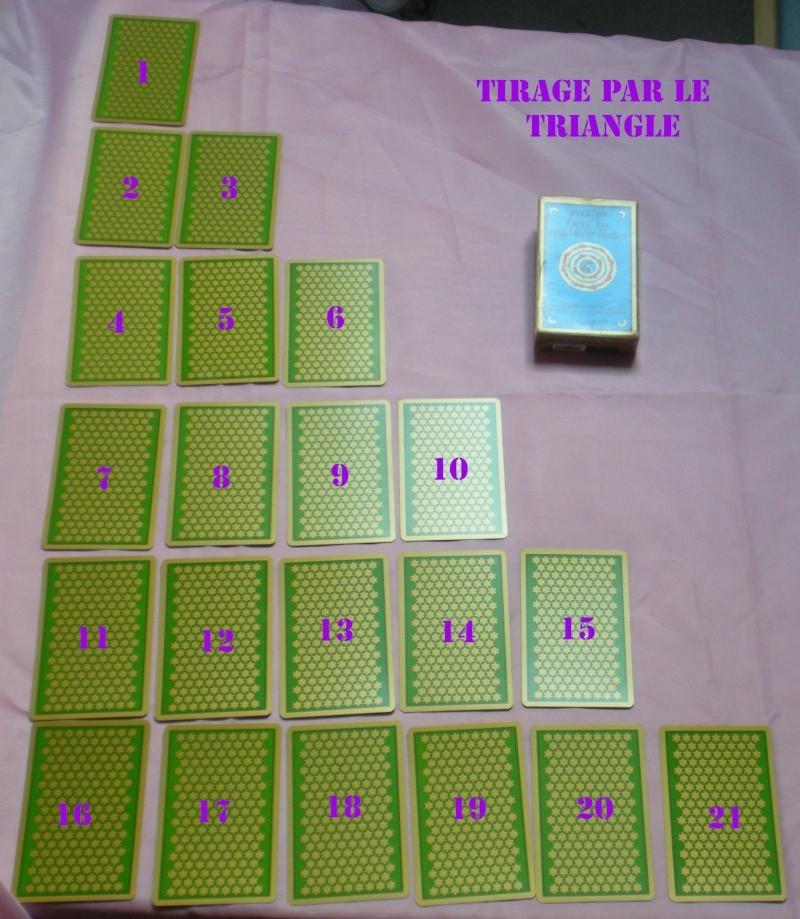 """Tirage d'Oracle selon la méthode dite du """"Triangle"""" Tirage29"""