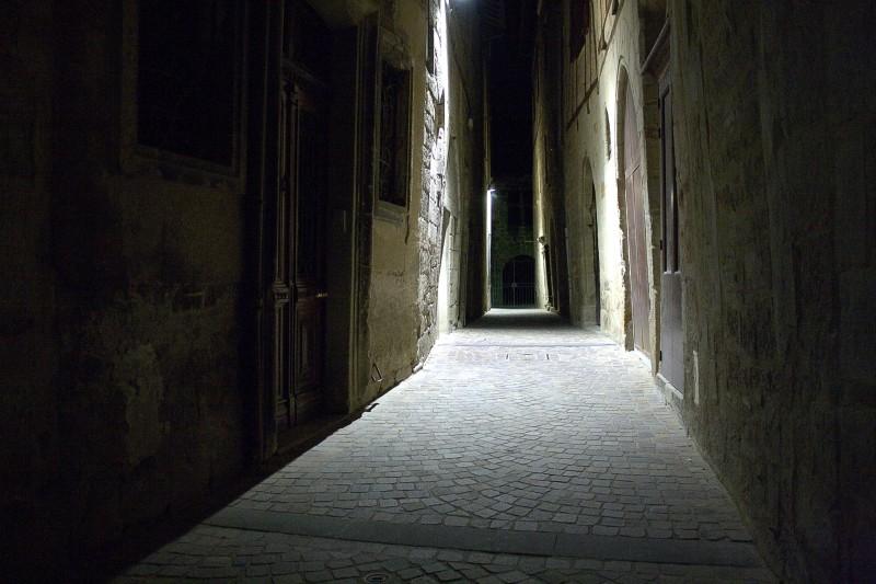 Rues de Figeac de nuit Img_3412