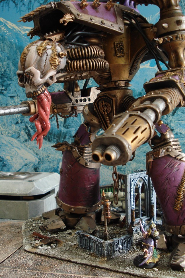 [40k] Titan Reaver de Slaanesh Dsc02711