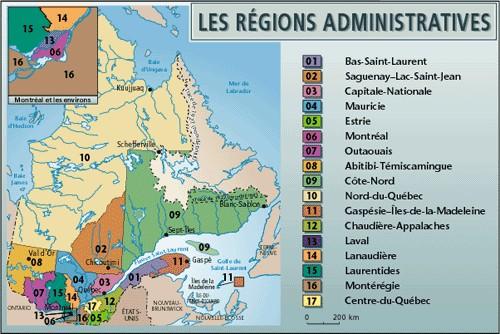 les regions Url-110