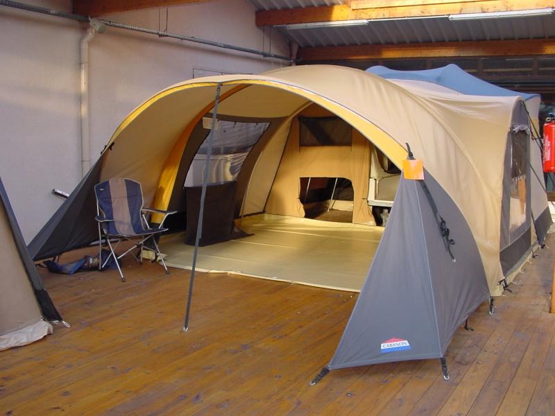 Exposition tentes et pliantes chez latour Mercur10