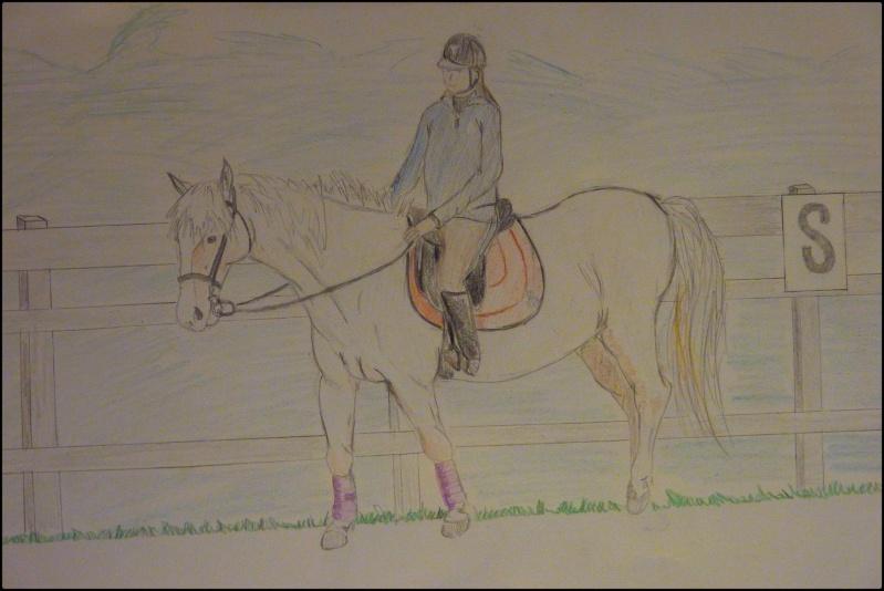 Propose de dessiner gratuitement vos chevaux !  - Page 5 P1070110