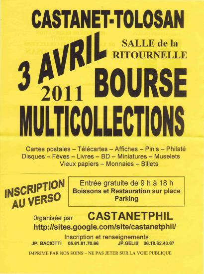 Castanet-Tolosan bourse multi_collections  Docume10