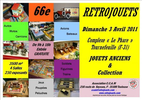 66e RETROJOUETS  Tournefeuille (31)  3 Avril 2011 Rt066-10