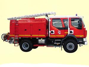 RENAULT Camion de Pompiers Midlum Double Cabine CCR Font-Romeu Eligor  Zz210