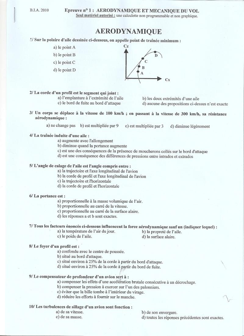 BIA 2010 : corrigé en ligne Numari10