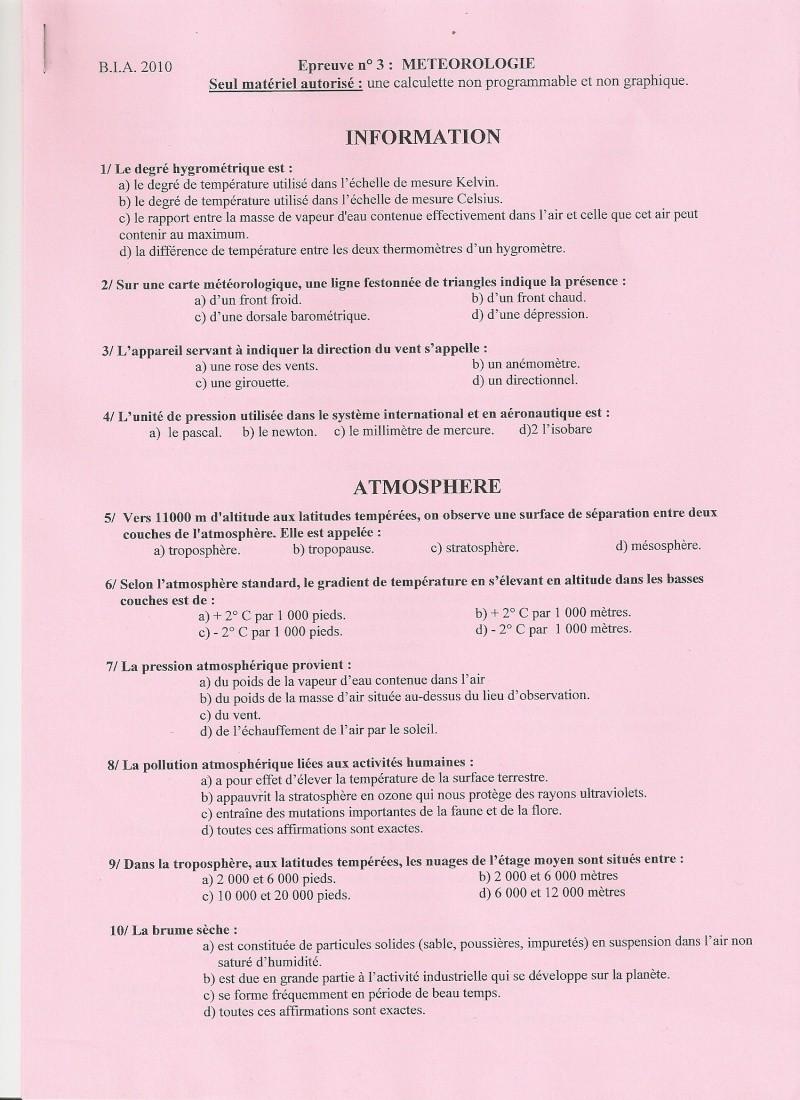 BIA 2010 : corrigé en ligne Numari14