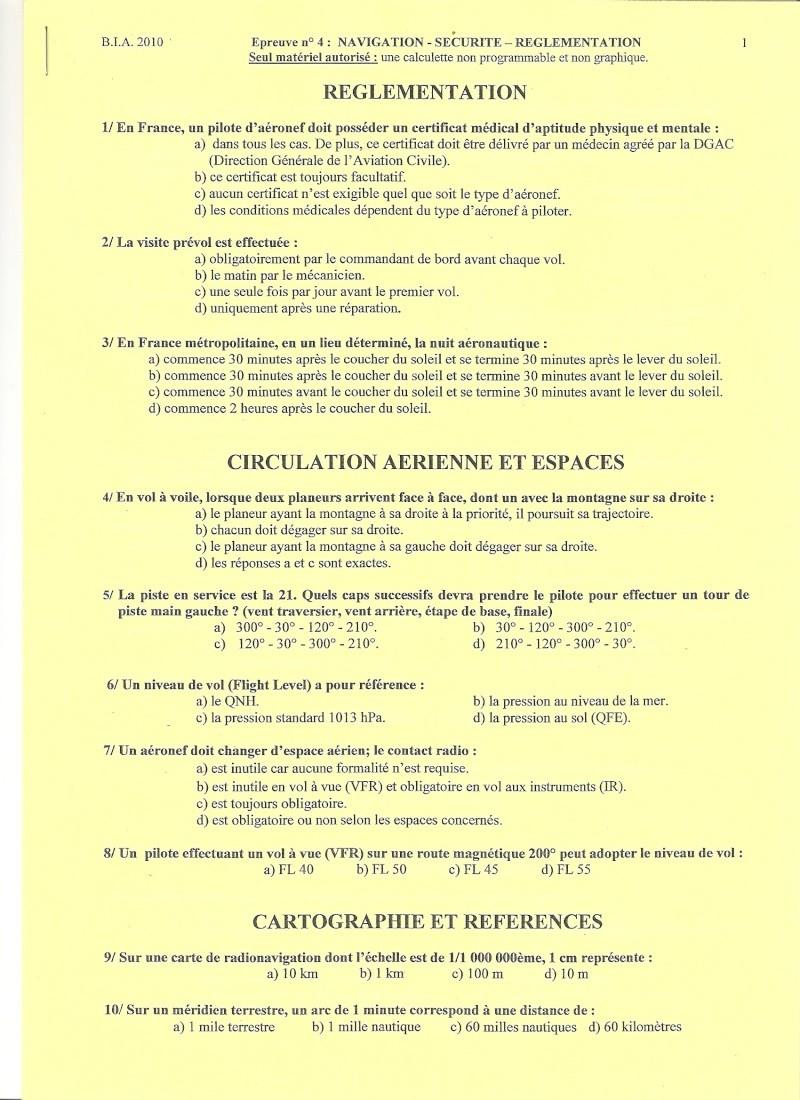 BIA 2010 : corrigé en ligne Numari16