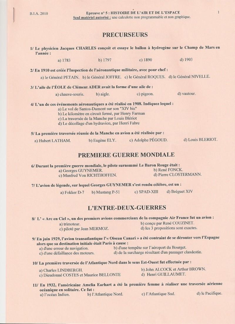 BIA 2010 : corrigé en ligne Numari18