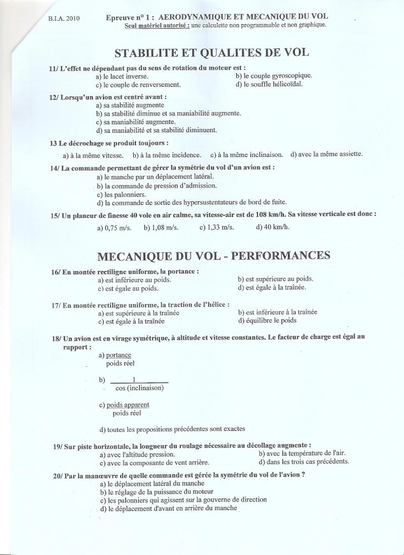 BIA 2010 : corrigé en ligne Numari20