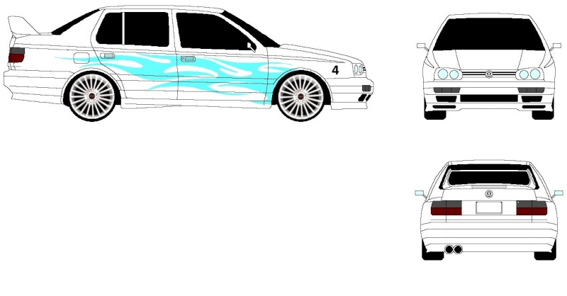 dessin informatque Volksw11