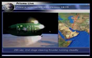 Lancement Picard et Prisma par Dnepr le 15 juin 2010 Prisma12