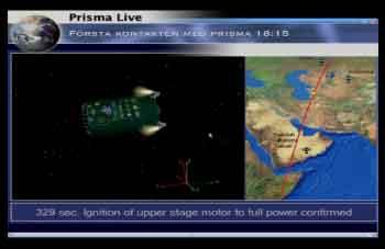 Lancement Picard et Prisma par Dnepr le 15 juin 2010 Prisma13