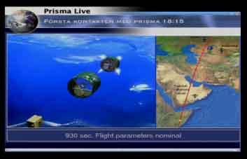Lancement Picard et Prisma par Dnepr le 15 juin 2010 Prisma14