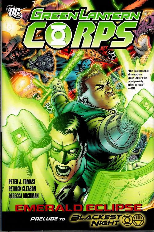 TPB: Green Lantern Corps Emerald Eclipse.  Couver10