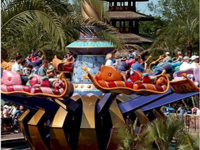 Magic Kingdom - Walt Disney World  Aladdi10