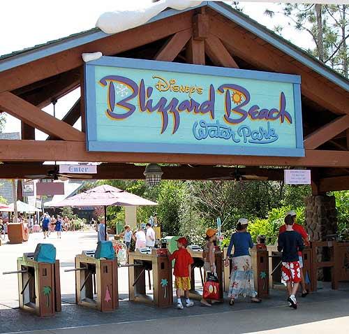 BLIZZARD BEACH WALT DISNEY WORLD ORLANDO Blizbe10
