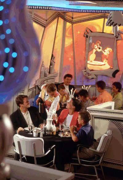 Disney Cruise Line,  Les Croisières  Disney Dining11