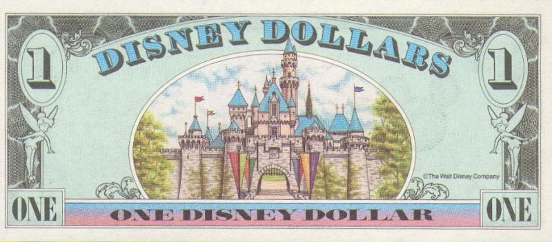 $$$ Disney Dollar $$$ Disney26