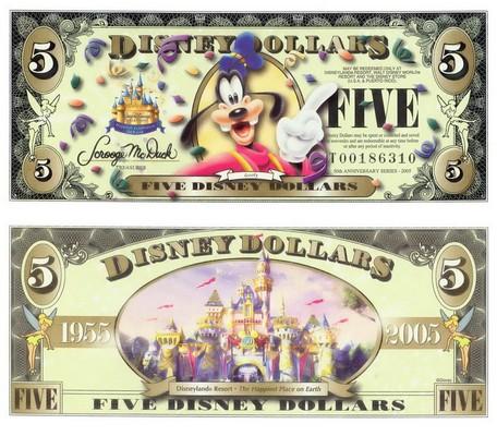 $$$ Disney Dollar $$$ Disney27
