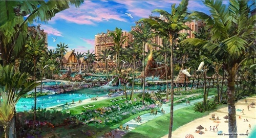 Disney construit à Hawaii Disney41