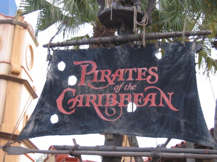 Magic Kingdom - Walt Disney World  Pirate12