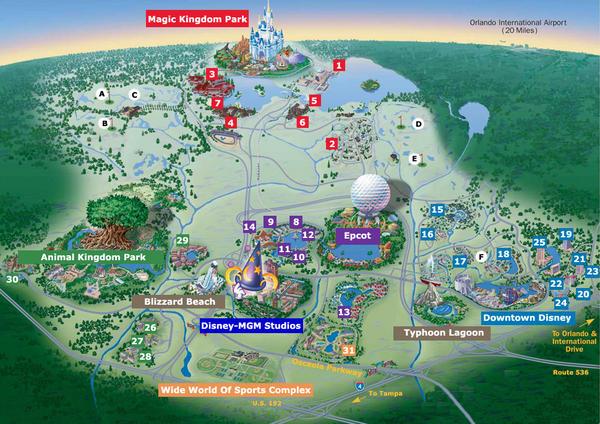 Magic Kingdom - Walt Disney World  Walt-d10