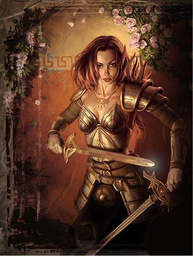 les elfes guerriers Dyn00410